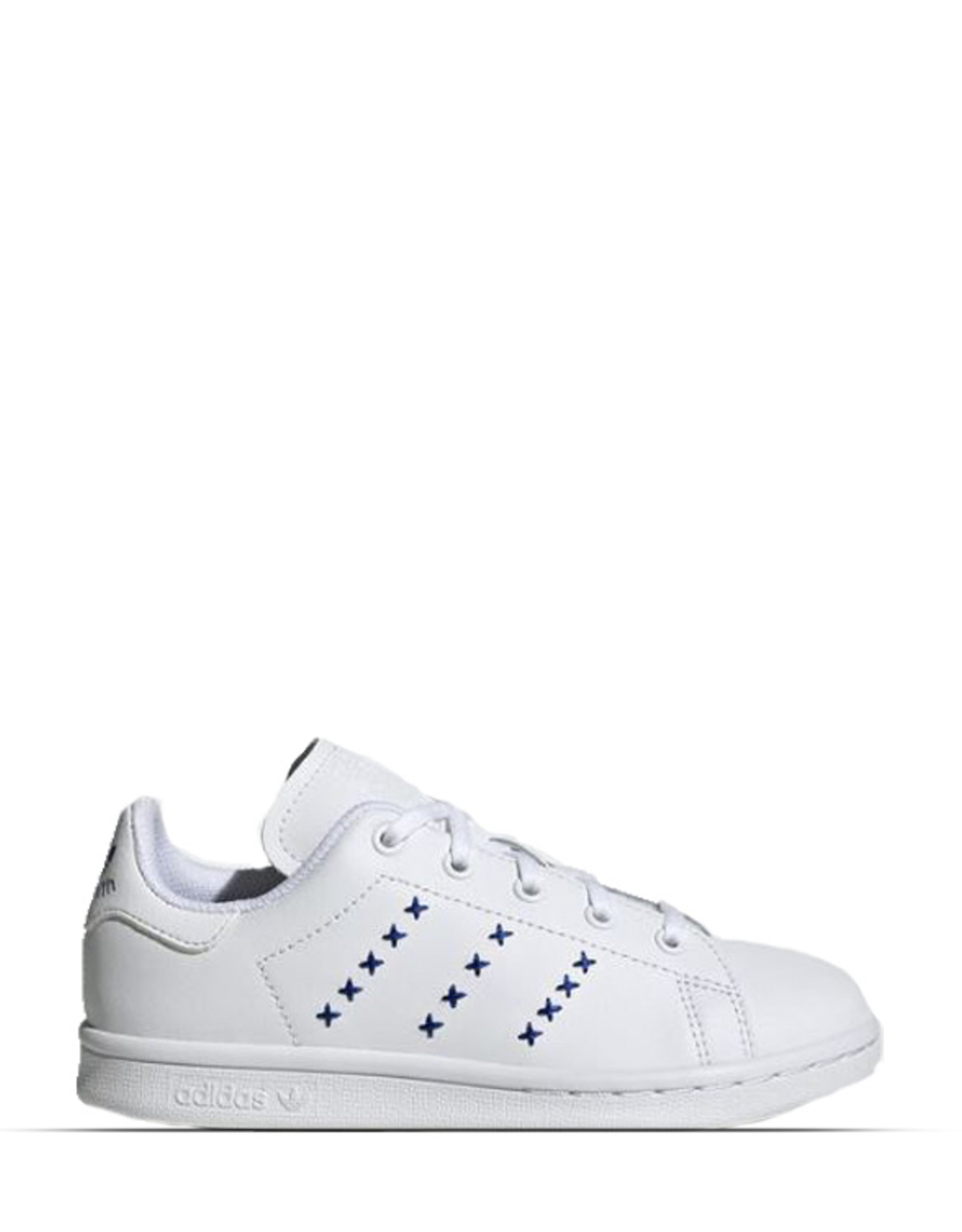 ADIDAS STAN SMITH  EMBROIDERED BLUE DETAILS