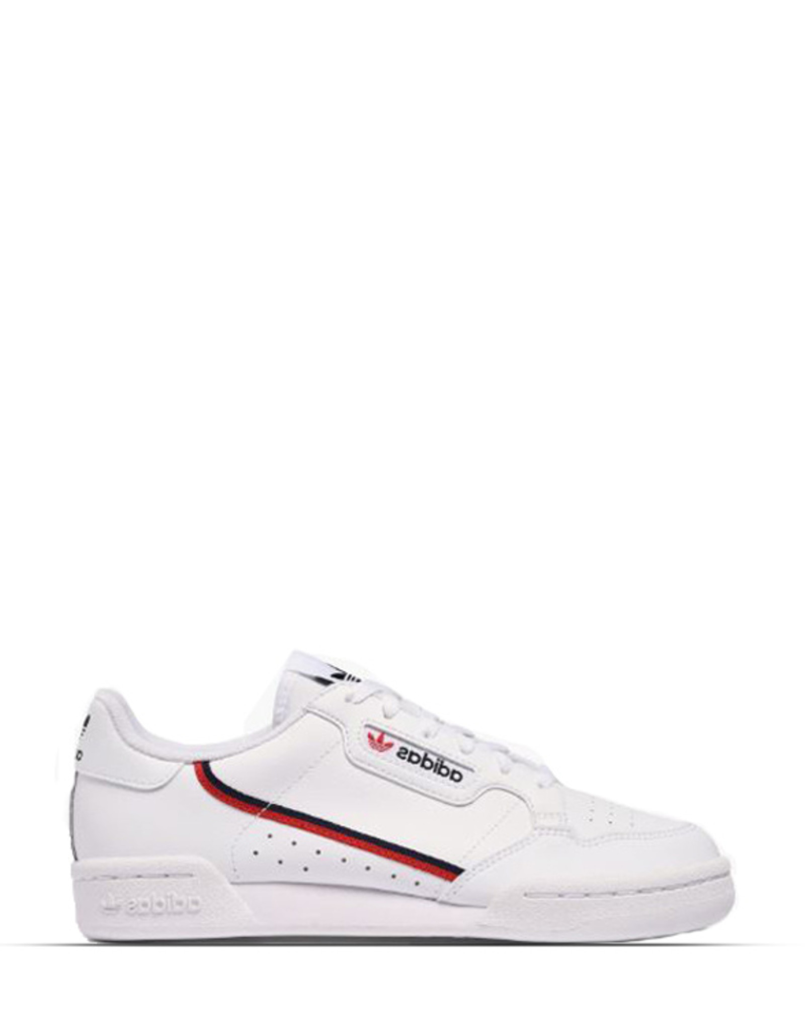 ADIDAS CONTINENTAL 80 WHITE SCARLET RED JUNIOR
