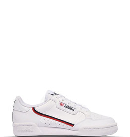 ADIDAS CONTINENTAL 80 WHITE SCARLET RED JUNIORCONTINENTAL 80 WHITE SCARLET RED JUNIOR