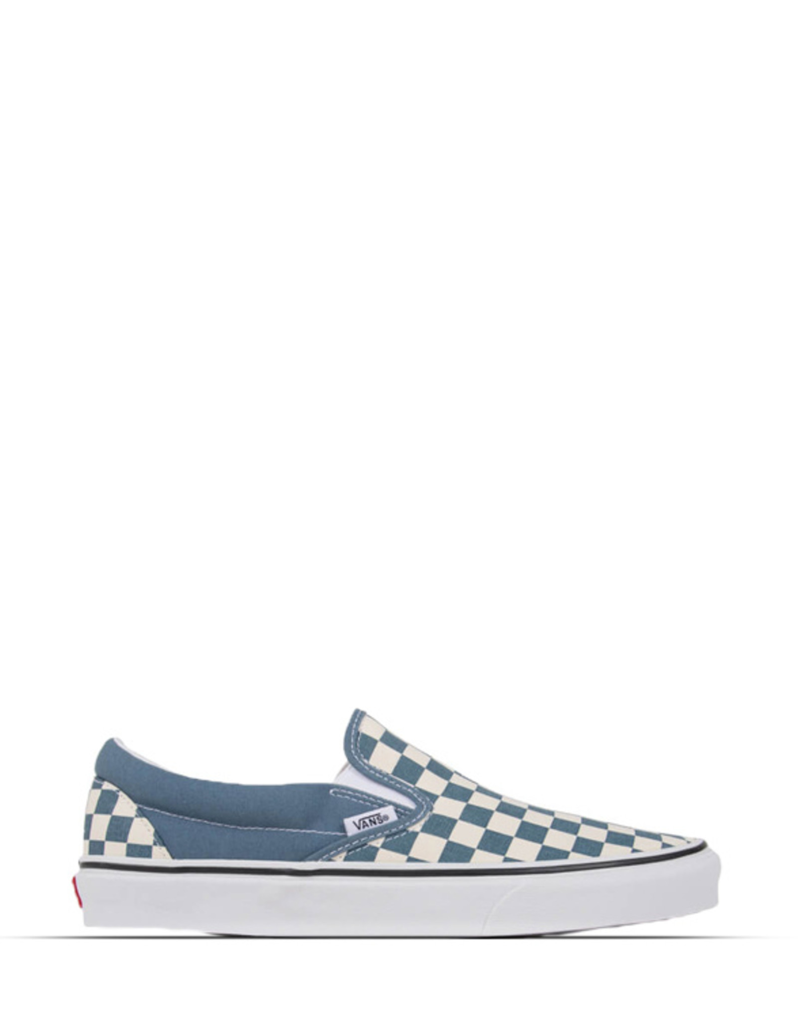 VANS CLASSIC SLIP-ON CHECK BOARD BLUE