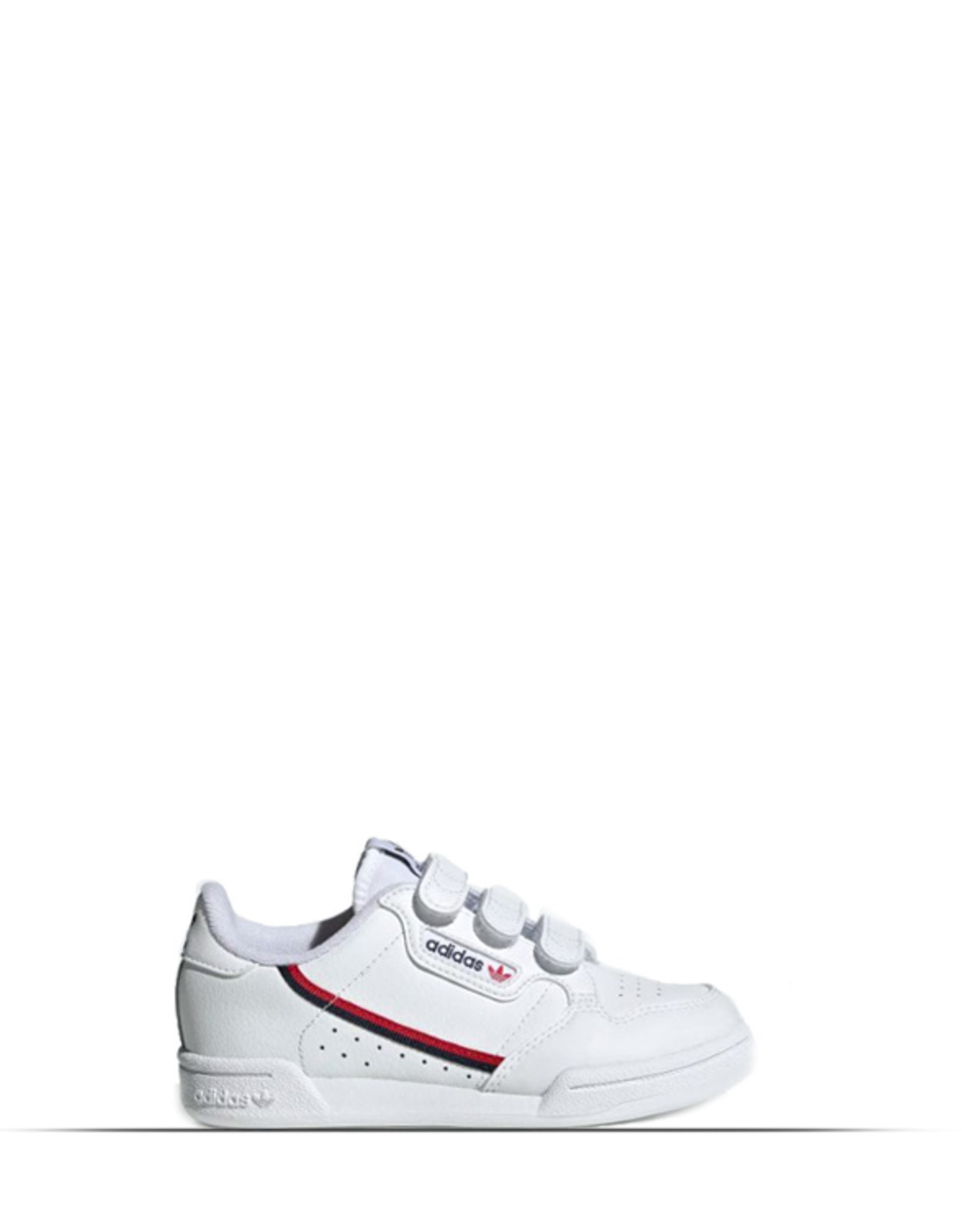 ADIDAS CONTINENTAL 80 WHITE SCARLET RED KIDS
