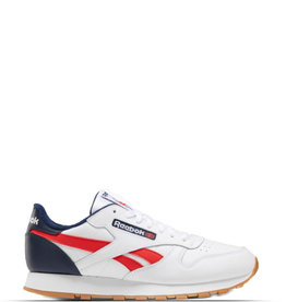 REEBOK CLASSIC LEATHER MU WHITE BLUE RED