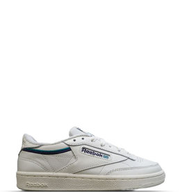 REEBOK CLUB C 85 CHALK GREEN BLUE