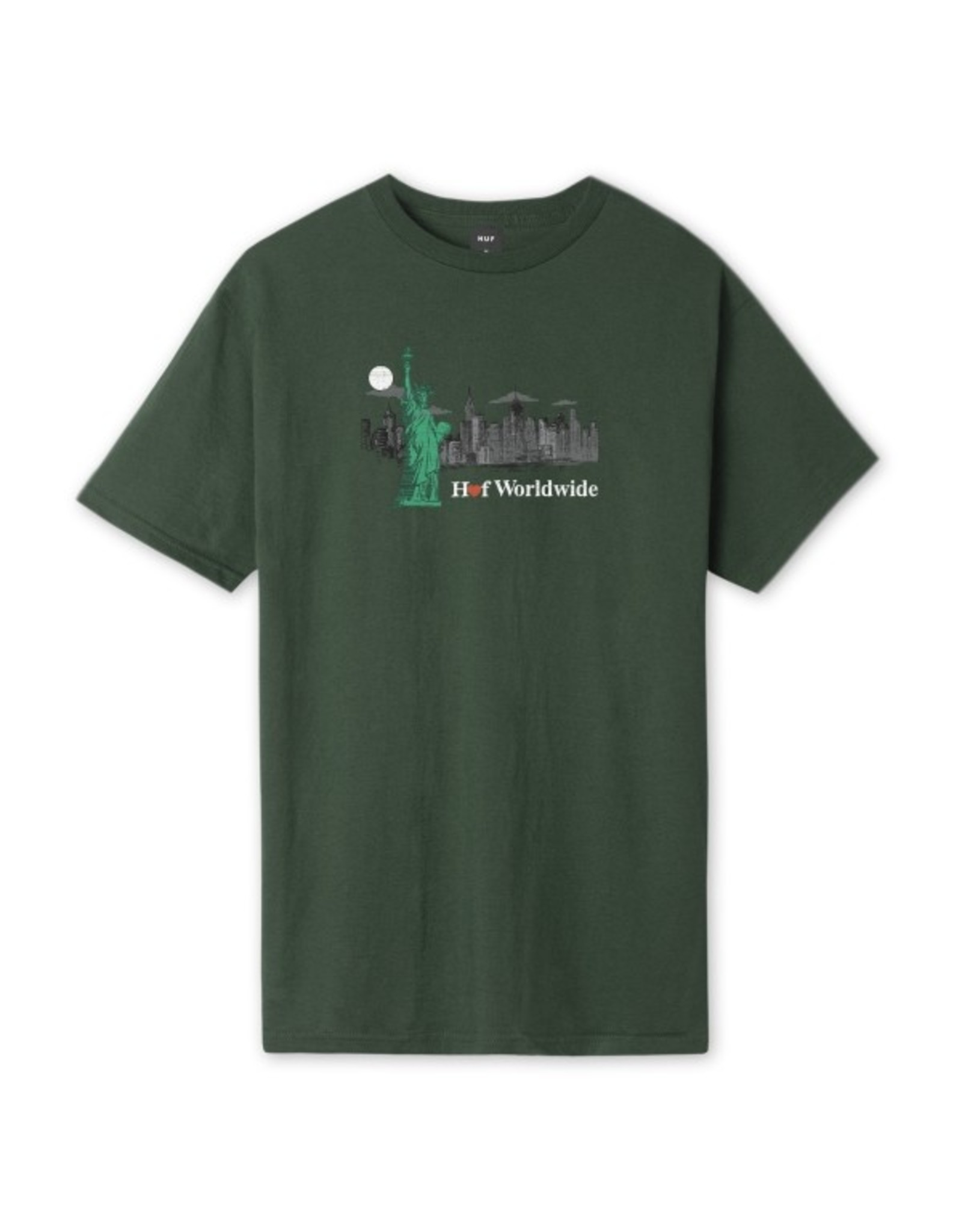 HUF GIFT SHOP TEE GREEN FORREST