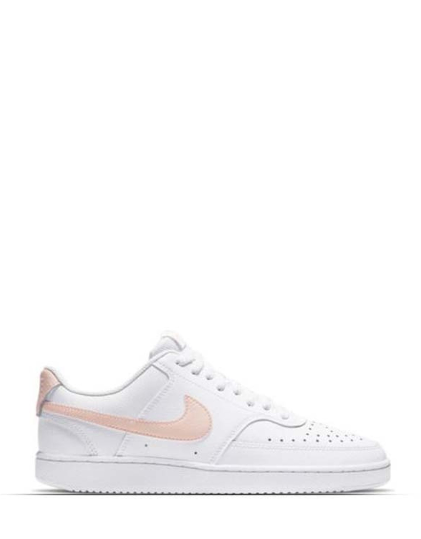 NIKE COURT VISION LOW WHITE/CORAL WMNS