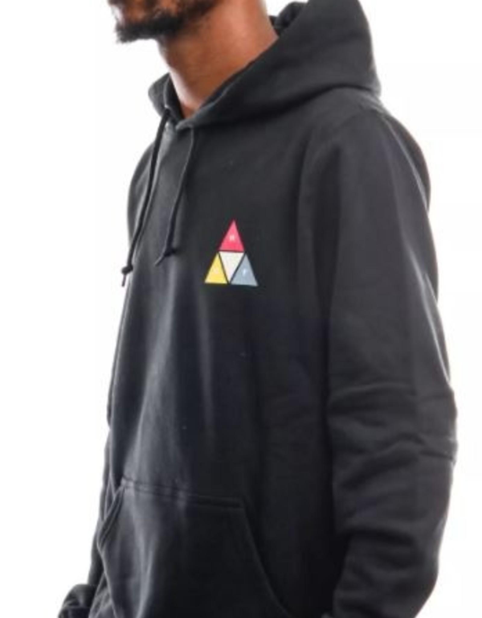 HUF PRISM TRAIL P/O HOODIE - BLACK