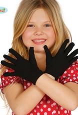 FIESTAS GUIRCA Zwarte kinderhandschoenen