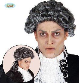 FIESTAS GUIRCA Pruik markies vampier
