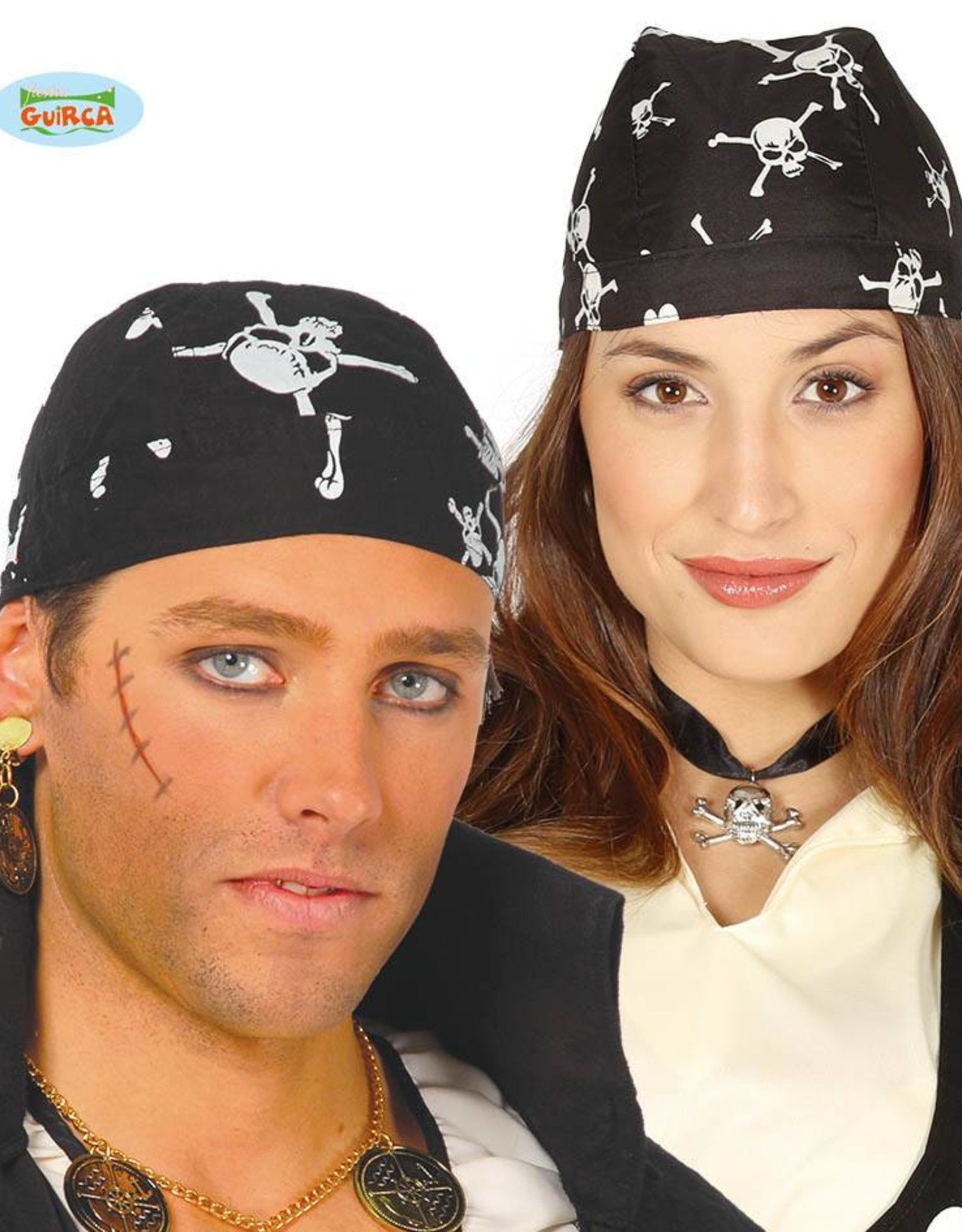 FIESTAS GUIRCA Bandana piraat