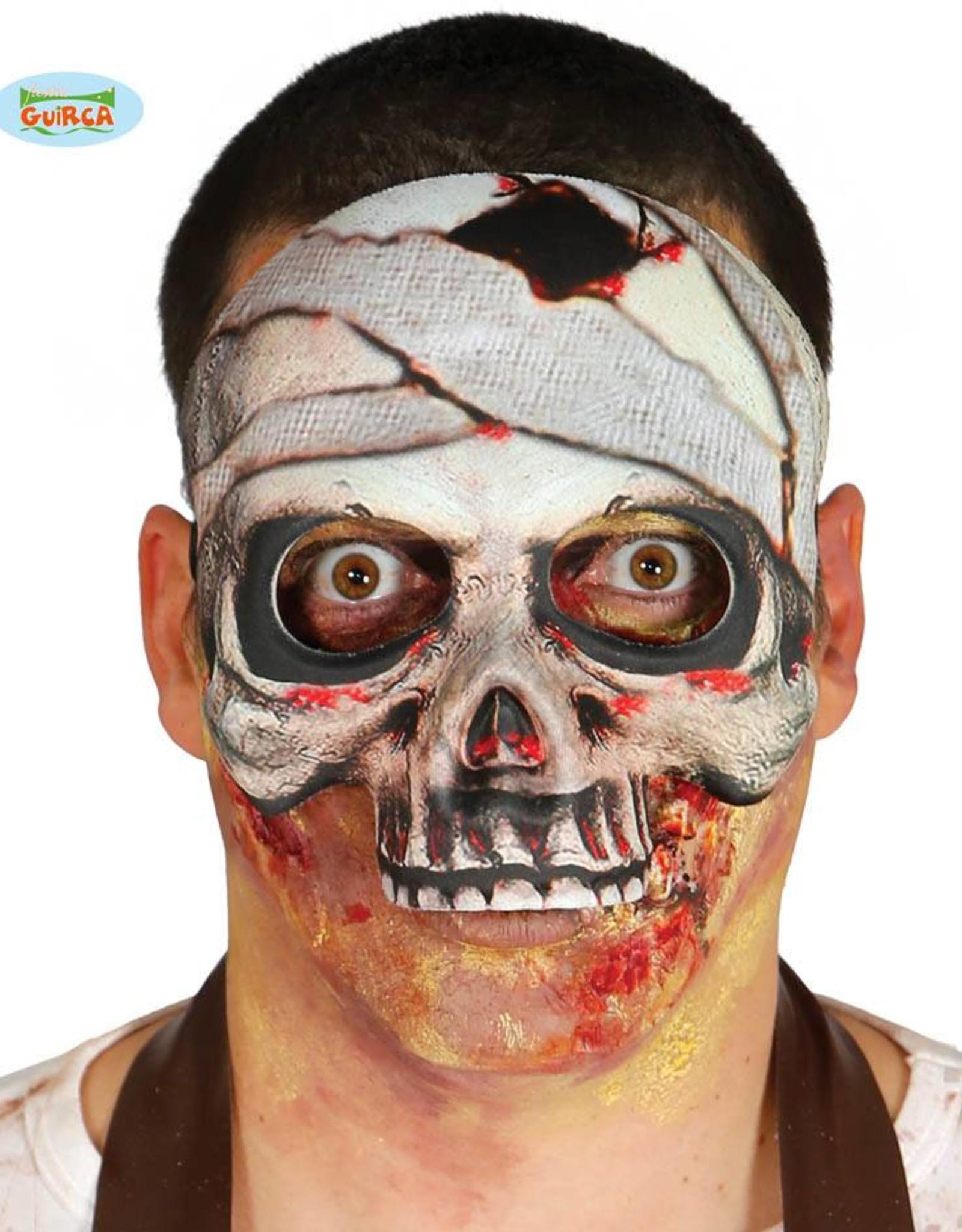 FIESTAS GUIRCA half masker skelet