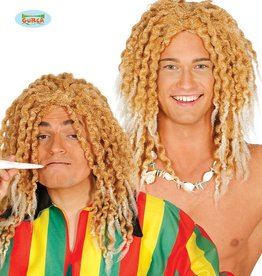 FIESTAS GUIRCA pruik blond rasta hippie