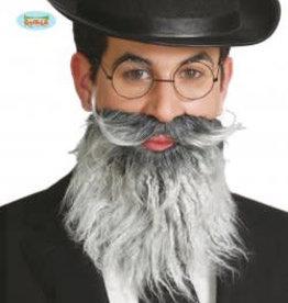 FIESTAS GUIRCA half lange grijze baard met snor