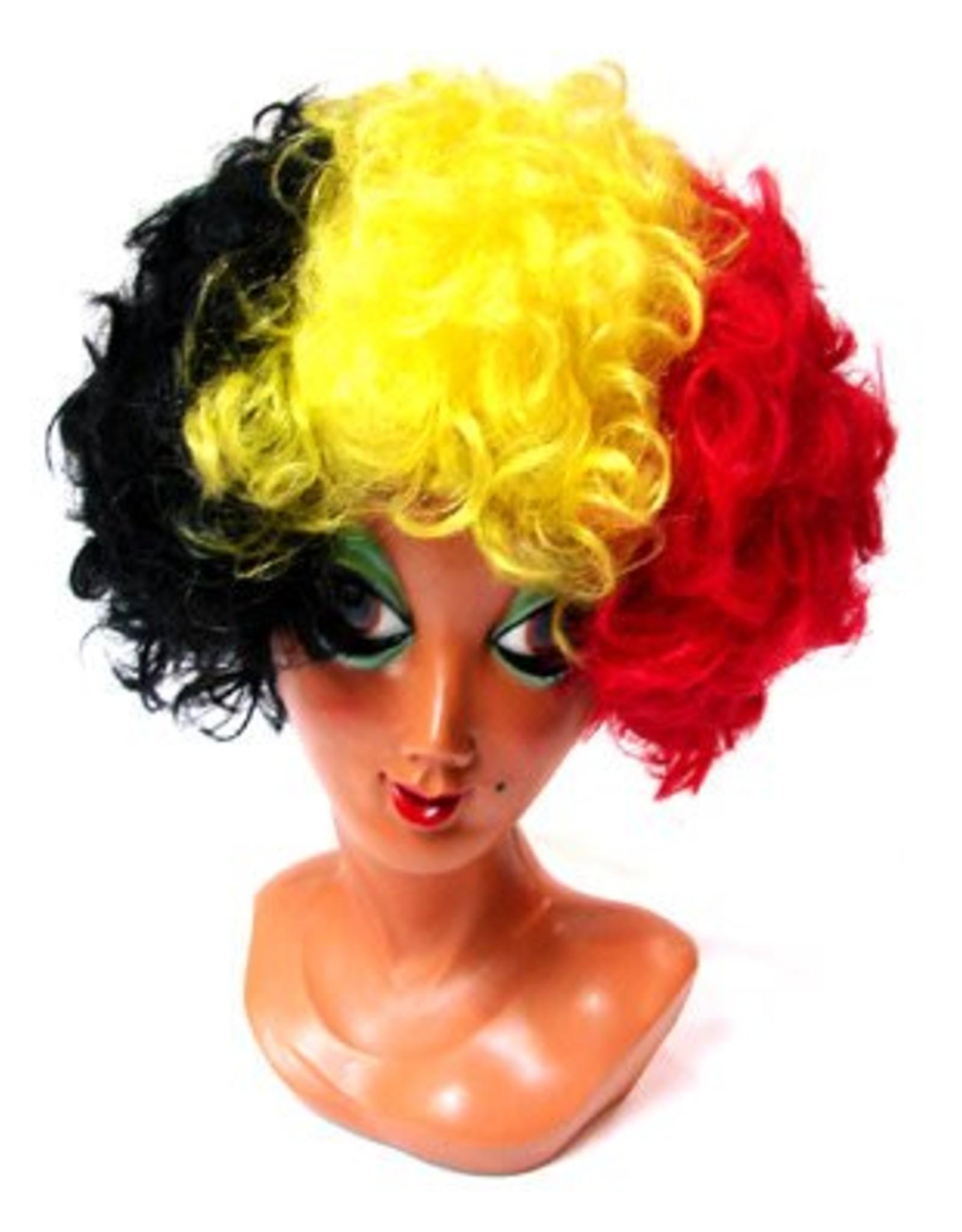 ESPA pruik krullen belgische kleuren