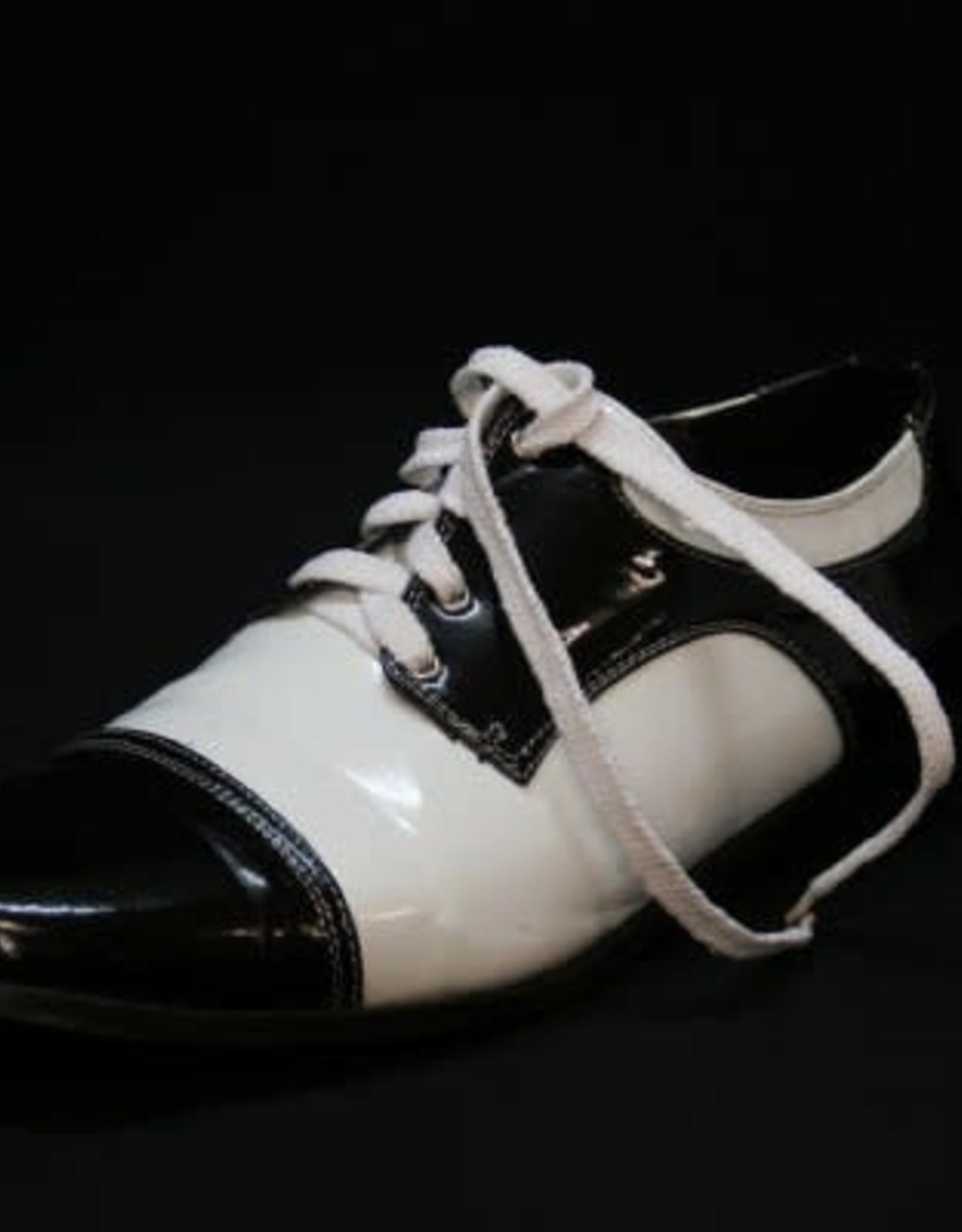 ESPA schoen wit zwart mt 44-45 huurprijs 25 gebruikt
