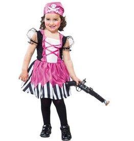 EUROCARNAVALES piraat meisje 2-4 jaar