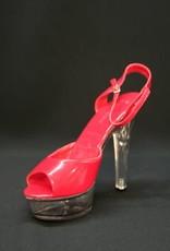 dameschoenen rood 40-41 huurprijs 20 gebruikt