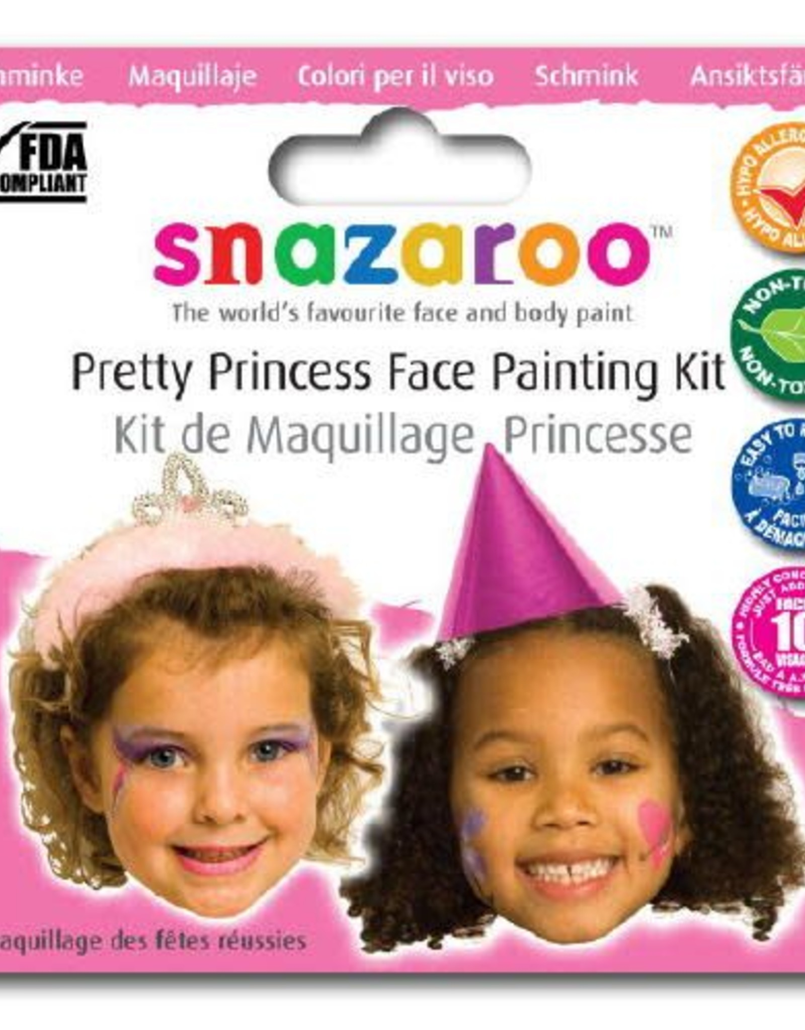 Snazaroo thema set princes