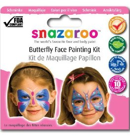 Snazaroo thema set vlinders