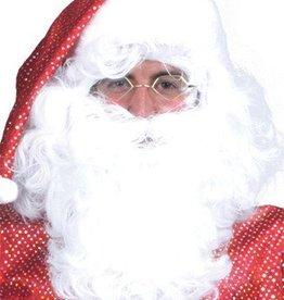 ESPA baard en pruik kerstman platte doos