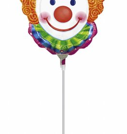 Sempertex avalloons ballon op stokje clown