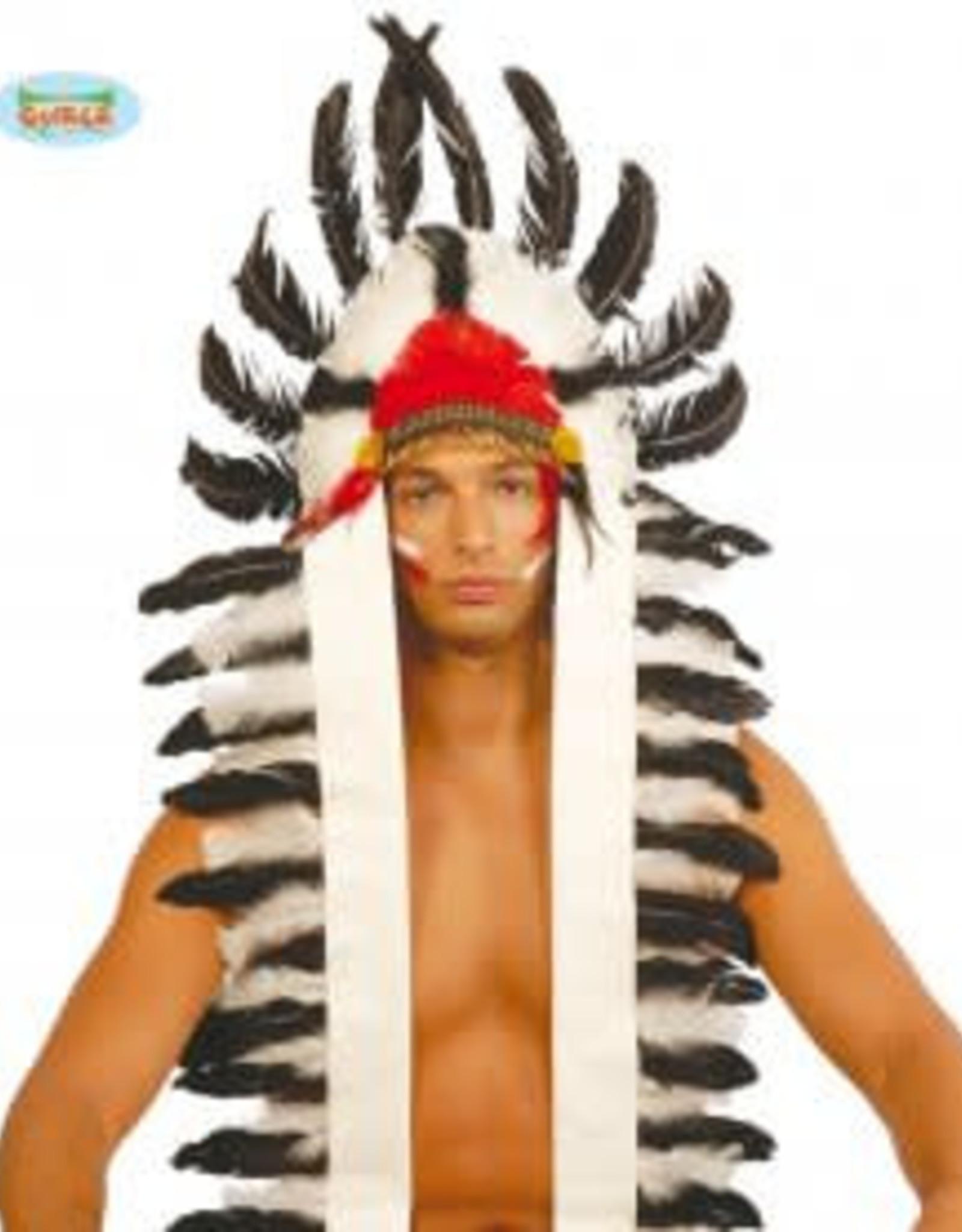 FIESTAS GUIRCA indianen pluimen afhangend
