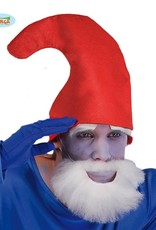 FIESTAS GUIRCA rode muts voor blauwe dwerg