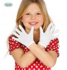 FIESTAS GUIRCA witte kinderhandschoenen