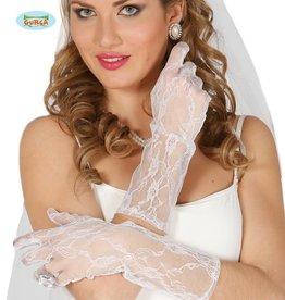 FIESTAS GUIRCA handschoenen kant wit