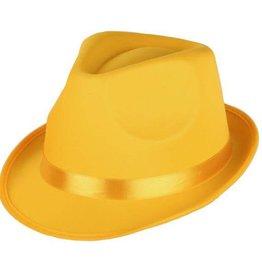 FARAM hoed disco fluo geel