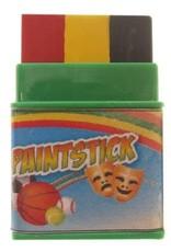 Partyxplosion Schminkstift Belgische driekleur.