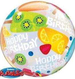Sempertex avalloons bubbles balloon Happy Birdhay lekstok