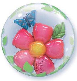 IBS dubbel bubbel bloem met helium
