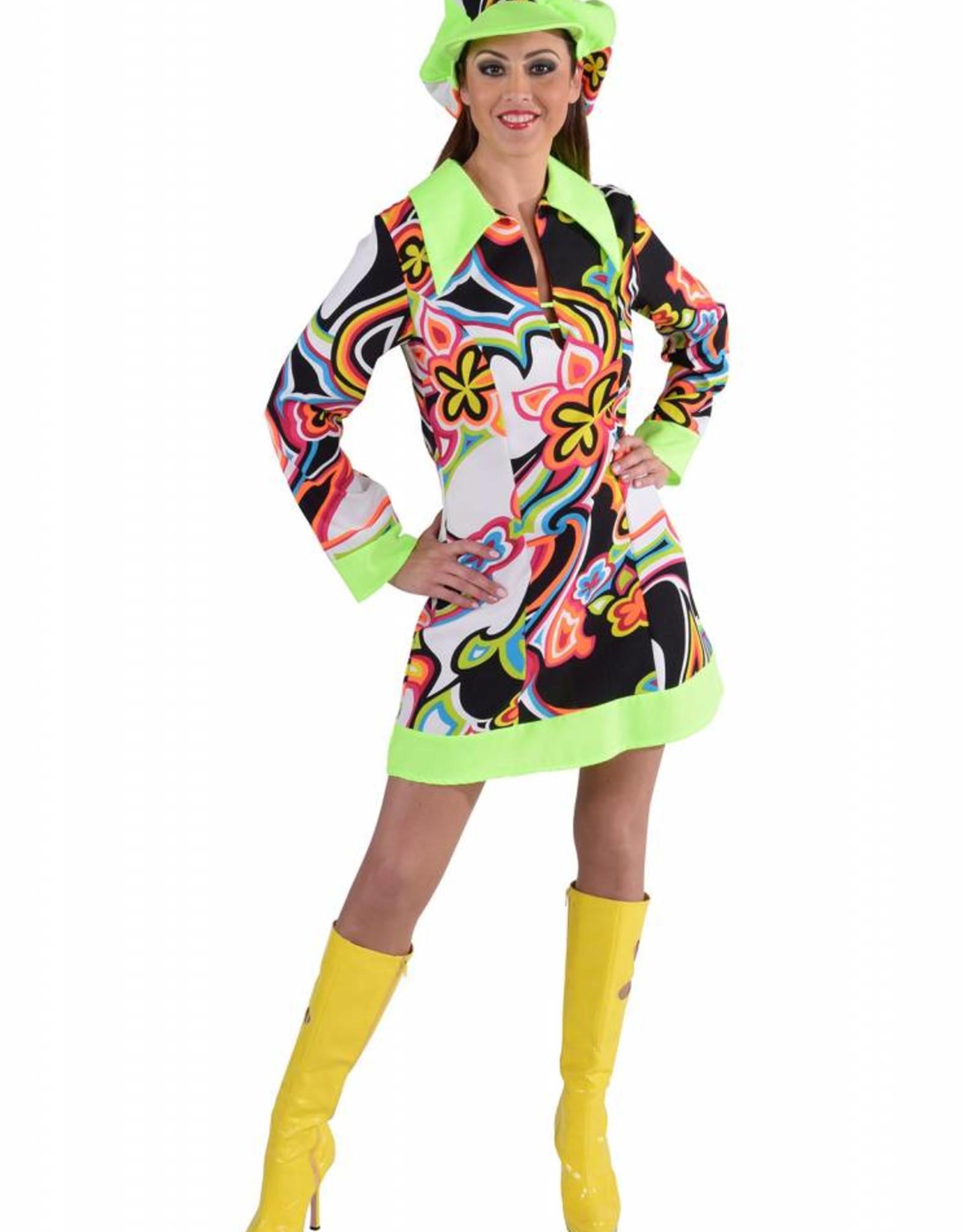 MAGIC fantasy jurk met pet M huurprijs 15