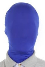 Morphsuits AFG Media ltd morphmasker blauw