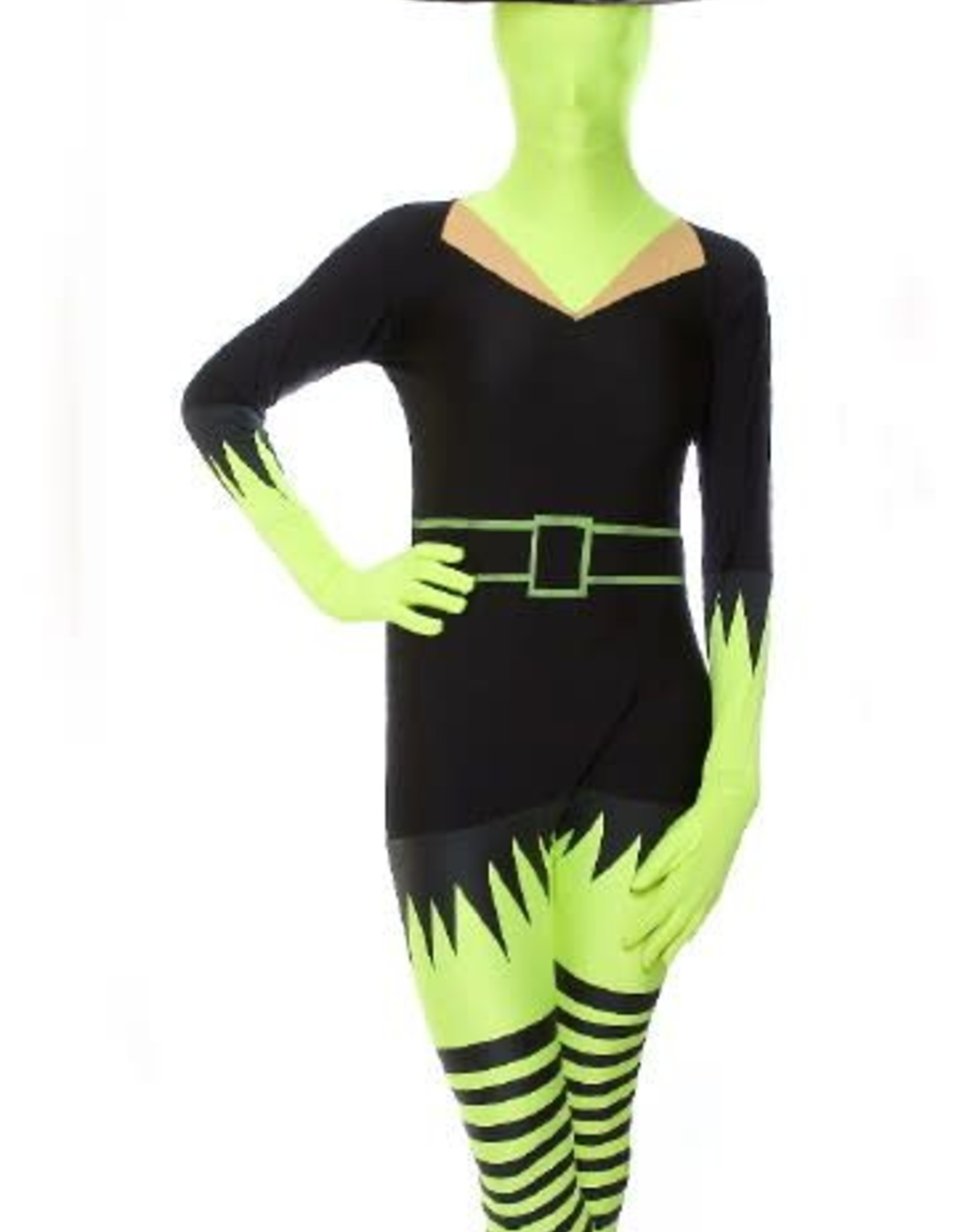 Morphsuits AFG Media ltd morphsuit groene heks XL