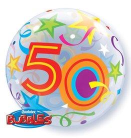 Sempertex avalloons bubbles met 50 op, met helium.