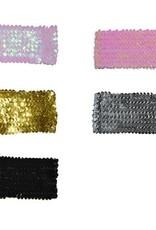 ESPA ceintuur rek glitter zwart