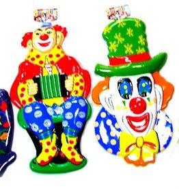 ESPA muurdecoratie ass. clown