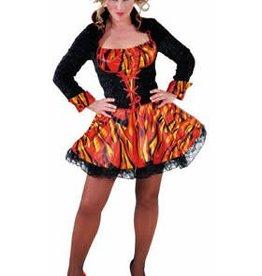 MAGIC sexy duivelin jurk S huurprijs 25