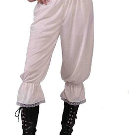 Bristol Novelty Ltd. steampunk broek wit