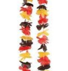 FARAM Hawaï krans Belgische kleuren -rode duivels-