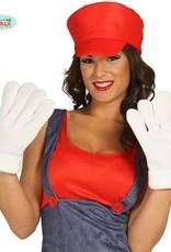 FIESTAS GUIRCA witte grote handschoenen