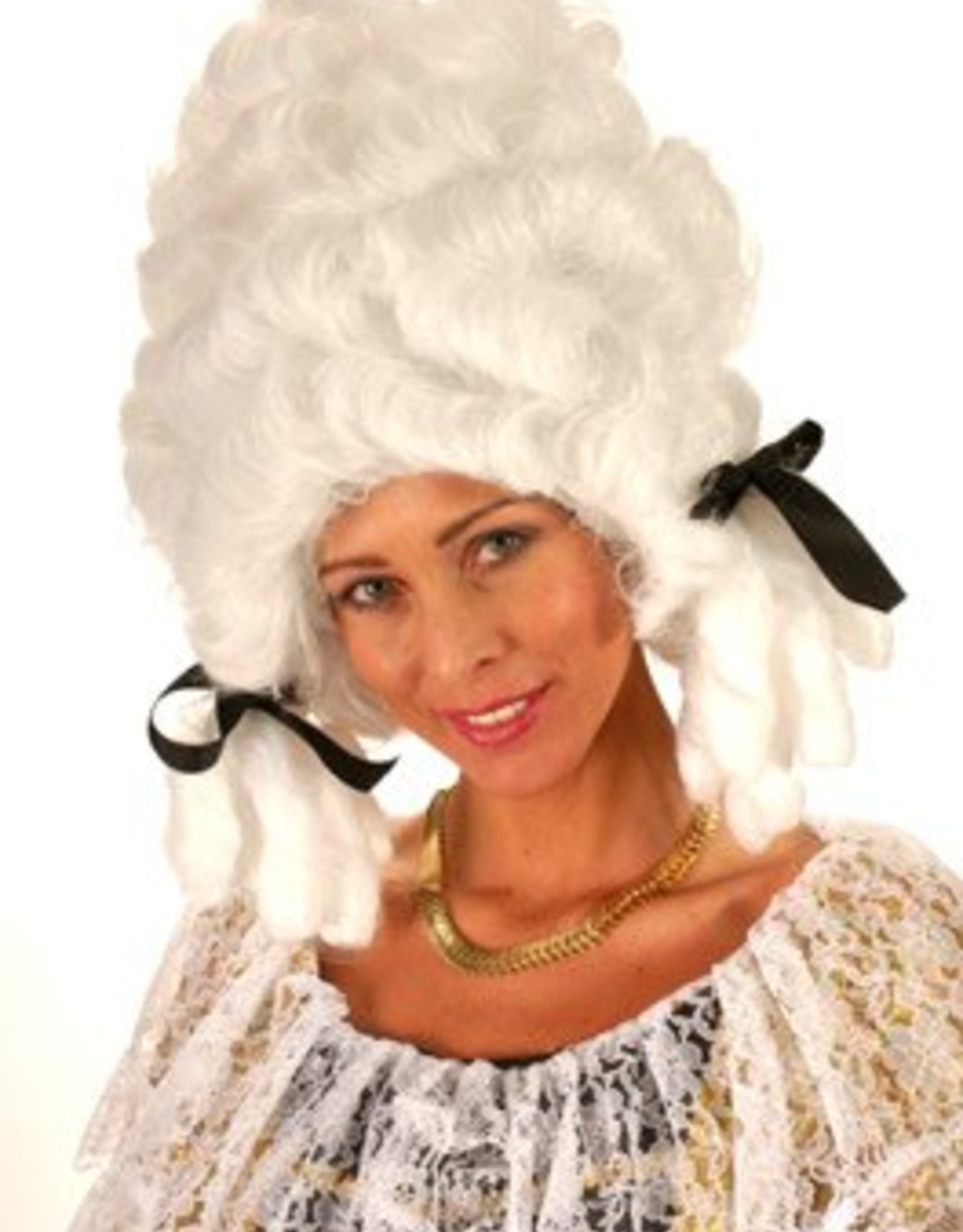ESPA pruik madame pompadoer zwart