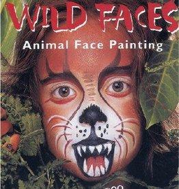 Snazaroo boek wild faces