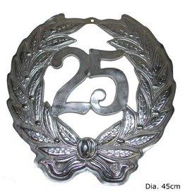 ESPA Plakkaat 25 zilver