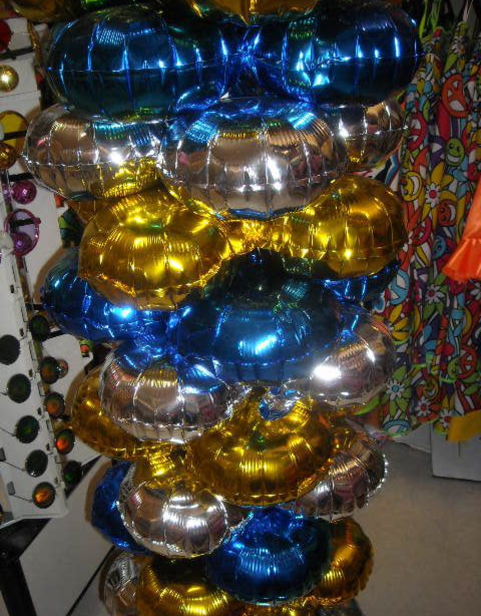 ballonnen voor boog of zuil 10 stuks goud