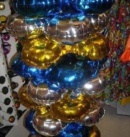 ESPA Ballonnen voor zuil of boog zilver 10 stuks