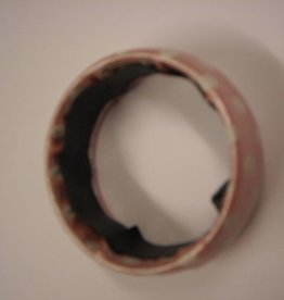 ESPA armband roos met witte bollen