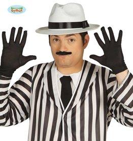 FIESTAS GUIRCA handschoenen zwart 25 cm.