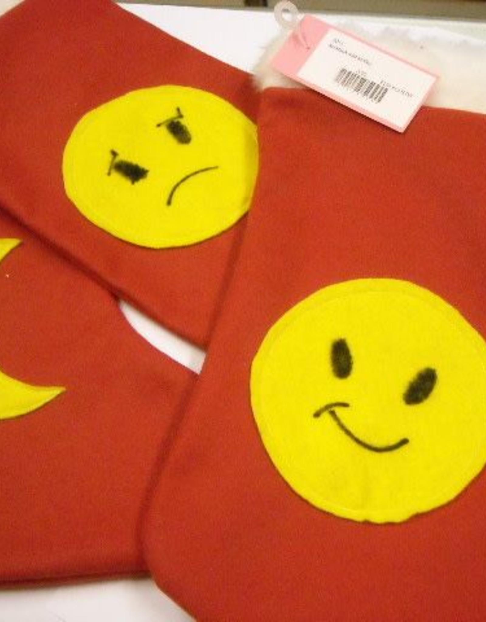 kerstsok met smiley
